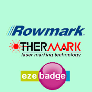 stand off, rowmark, thermark, eze badge, clear paht, magic touch, materiales